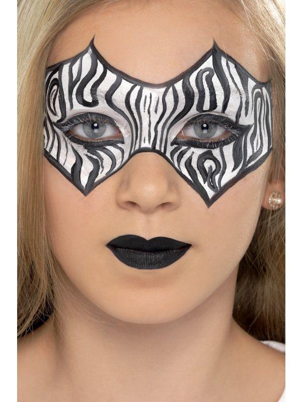 Palette maquillage animaux maquillage kits et palettes visages le - Maquillage deguisement visage ...