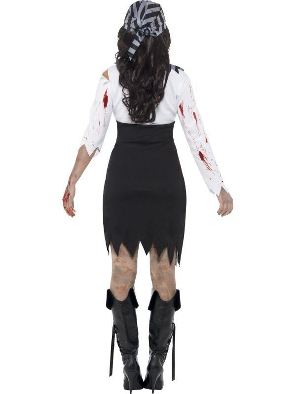 D guisement zombie femme pirate d guisement adulte sp cial halloween le - Deguisement zombie femme ...