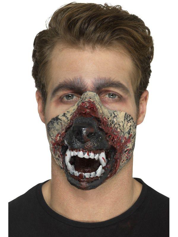 proth se en mousse latex bouche de loup garou maquillage. Black Bedroom Furniture Sets. Home Design Ideas