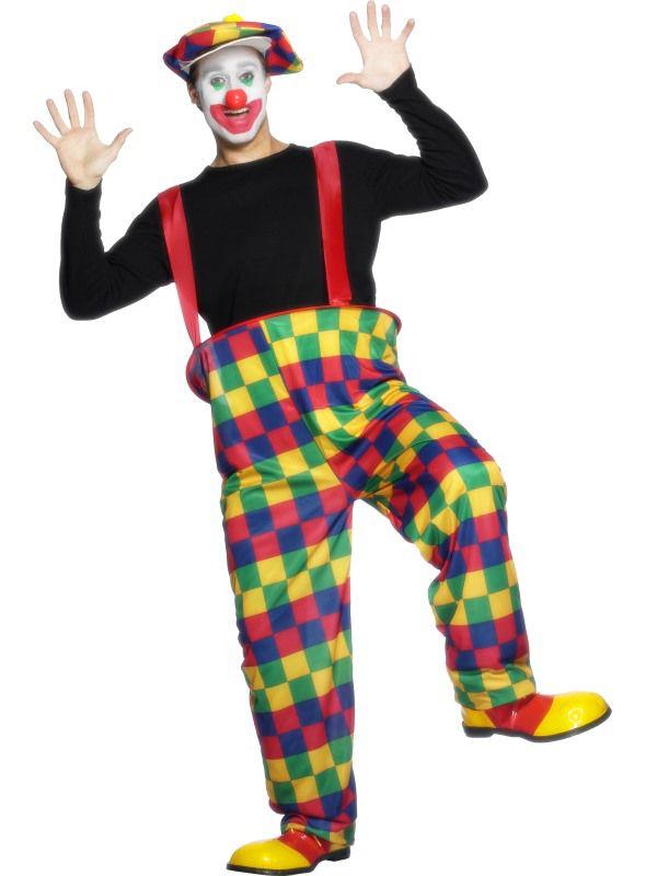 Deguisement clown multi couleur deguisement adulte le - Theme de deguisement ...