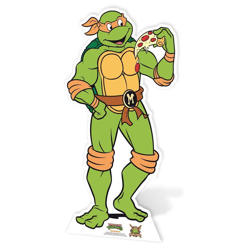Figurine Géante Michelangelo Tortue Ninja - Décorations Les Figurines Géantes Le Deguisement.com