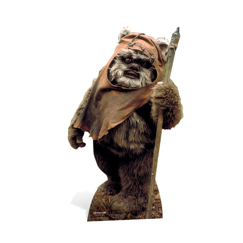 figurine g ante ewok star wars d corations les figurines g antes le. Black Bedroom Furniture Sets. Home Design Ideas