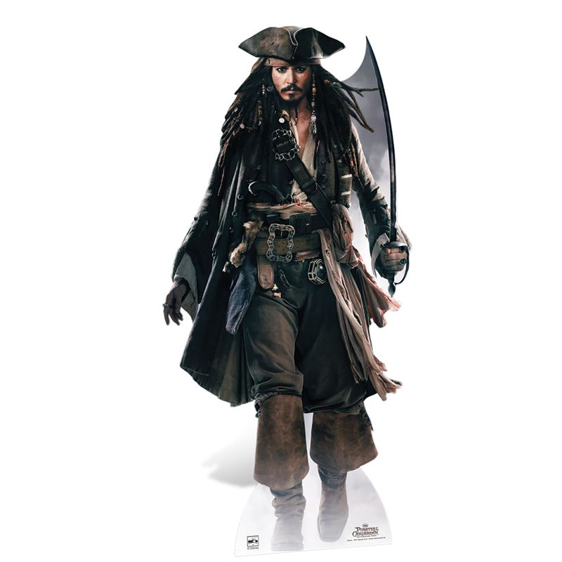 figurine jack sparrow p e pirates des cara bes. Black Bedroom Furniture Sets. Home Design Ideas