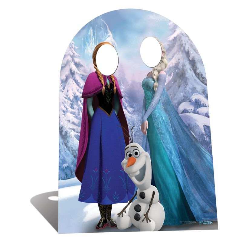 figurine passe t te photo enfant reine des neiges. Black Bedroom Furniture Sets. Home Design Ideas