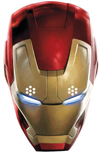 Masque carton adulte iron man avengers masques adultes - Masque iron man adulte ...