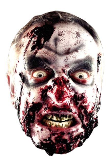 Masque carton adulte zombie masque halloween le - Masque de halloween a imprimer ...
