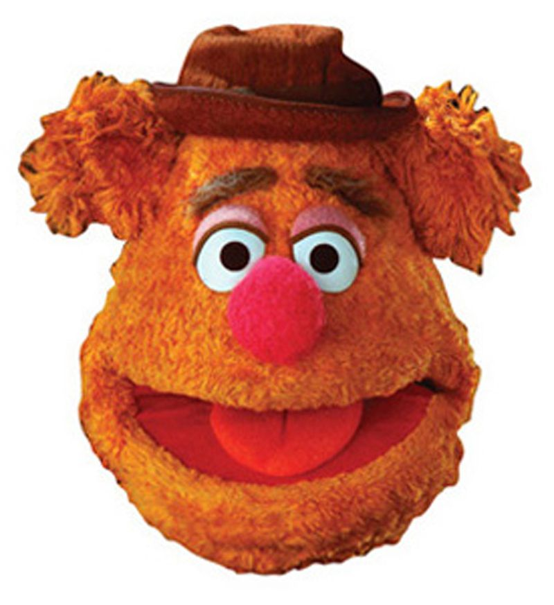 Top 50 Muppets Loc 80: Masque Carton Adulte Fozzie The Muppet Show