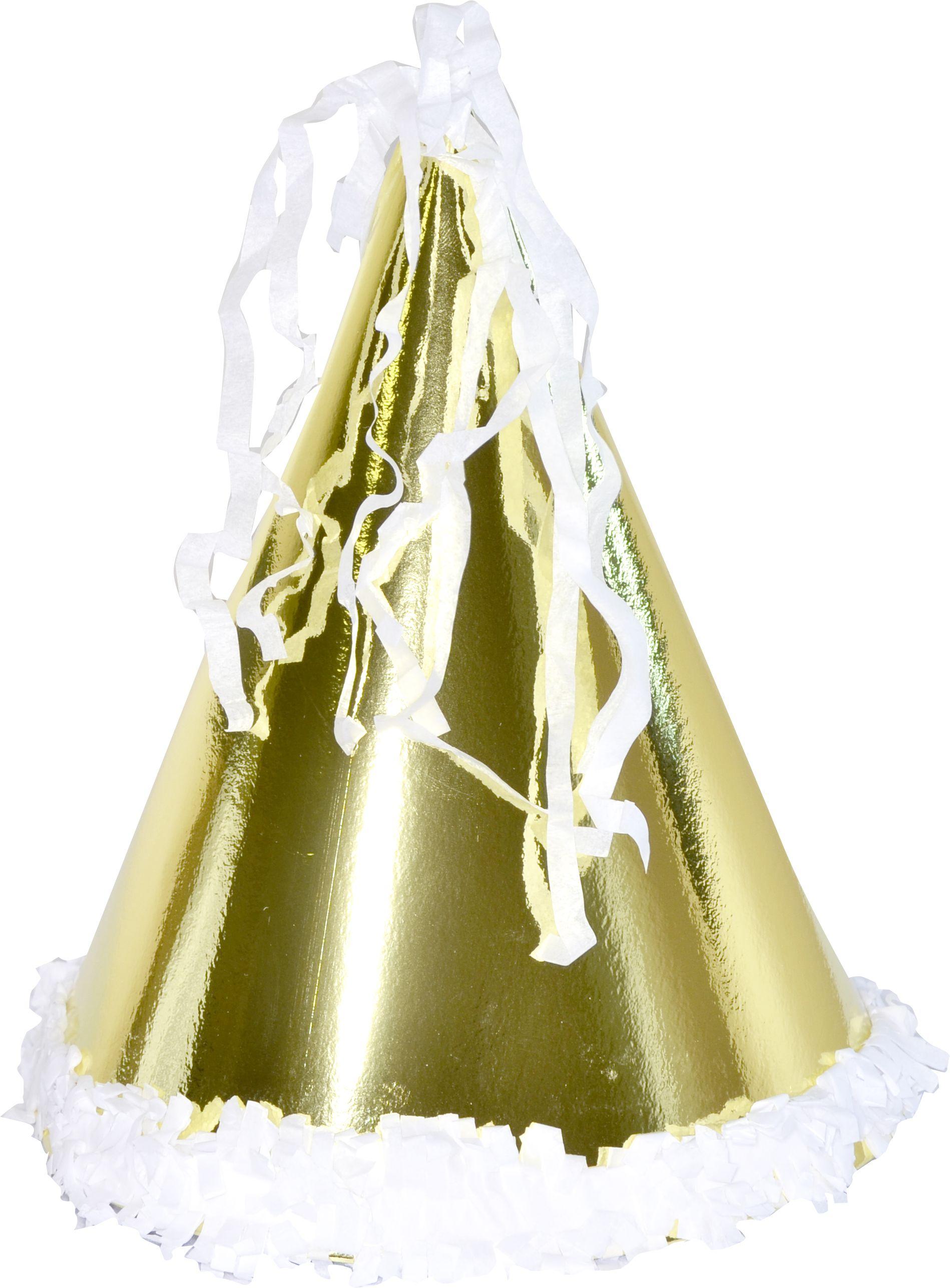 Chapeau or grand mod le articles de f te cotillons confettis le - Image cotillons fete ...
