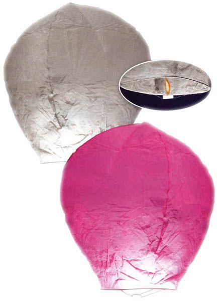 Montgolfi re papier articles de f te bougies lampions - Montgolfiere en papier ...
