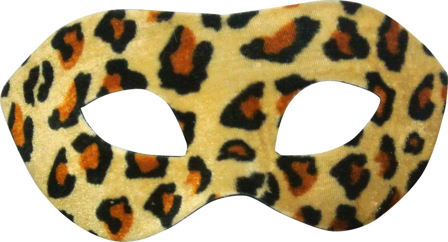 Loup velours l opard masques loups le - Image leopard a imprimer ...