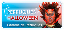 Perruques Halloween